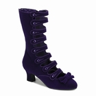 WHIMSEY-115 - VELVET CALF BOOTS WITH STRAPS