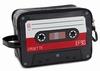 Kulturbeutel Audiokassette rot